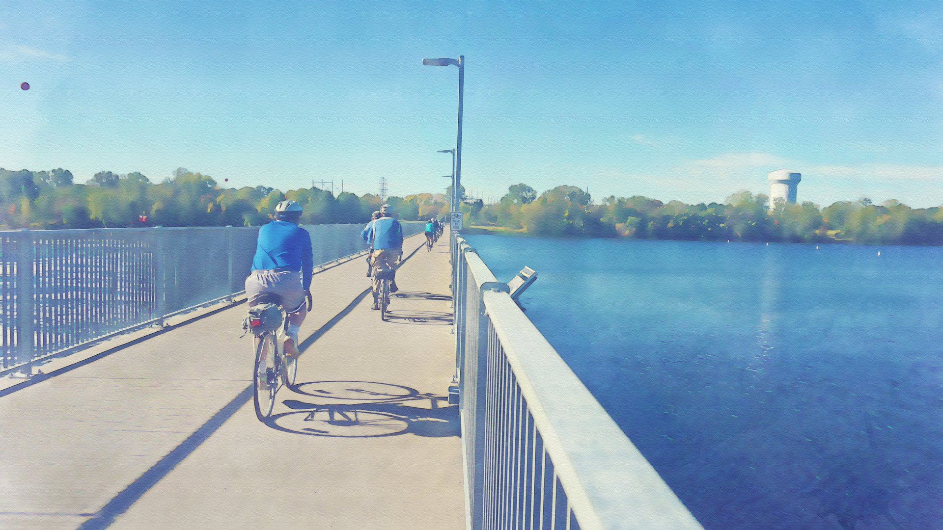 Access some of the nation's best bike trails! Cross the Coon Rapids Dam, hop on the picturesque MRT (which traverses the entire Mississippi!), or ride trails all the way downtown.